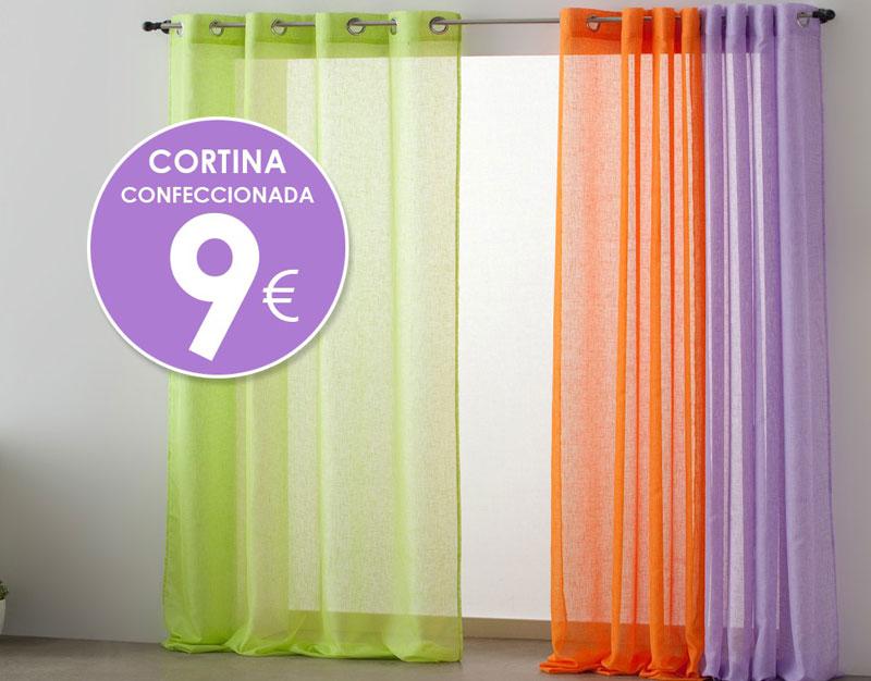 Renueva tus cortinas en tramas centro comercial rinc n for Cortinas lisas baratas